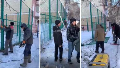 Photo of «Акимат продался бизнесу!» – скандал вокруг спортплощадки прокомментировал аким Кокшетау