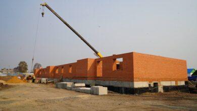 Photo of Три многоэтажки строят в селе Балкашино
