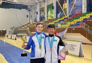 Photo of Акмолинцы стали призерами V молодежных игр РК по современному пятиборью