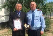 Photo of Задержавшего убийцу акима наградили в Костанайской области