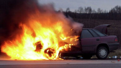 Photo of Два человека заживо сгорели в салоне авто на дороге Алматы – Хоргос