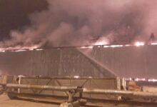 Photo of Крупный пожар произошел на газоперерабатывающем заводе в Жанаозене