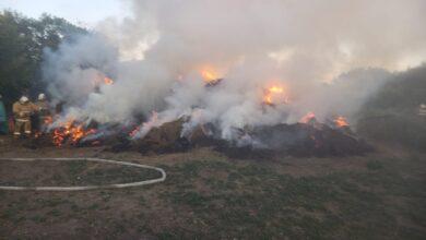 Photo of 10 тонн сена подожгла жительница Акмолинской области