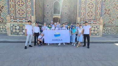 Photo of Акмолинская молодежь посещает сакральные места Туркестана