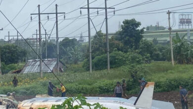 Photo of Военный самолет потерпел крушение в Мьянме