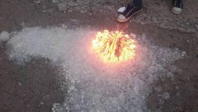 Photo of Подростки в Атбасаре жгли пух, а загорелся автобусный парк