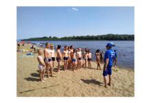 Photo of Для акмолинских детей на озерах организовали занятия по плаванию