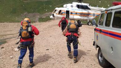 Photo of В горах Заилийского Алатау пропал мужчина: его ищут с вертолета