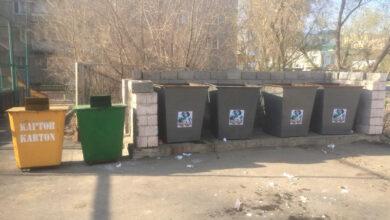 Photo of 33 контейнера для раздельного сбора мусора стоят в Кокшетау