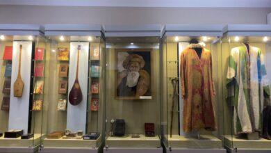 Photo of Выставка, посвященная 175-летию Жамбыла Жабаева, открылась в Акмолинской области