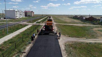 Photo of Работы по ремонту внутрипоселковых дорог ведутся в Жаксынском районе