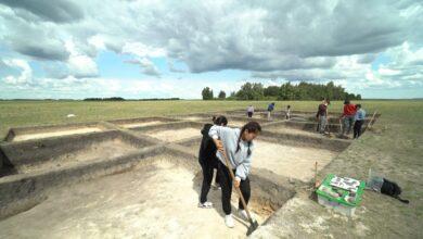 Photo of Костяную иголку ботайской культуры нашли школьники под Красным Яром
