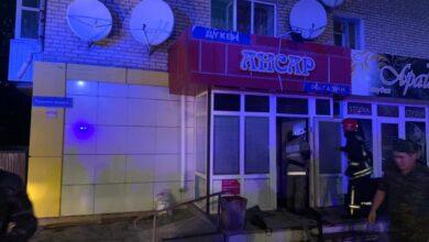 Photo of Пожар многоэтажки в Кокшетау: 27 человек эвакуировали