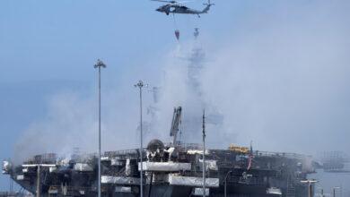Photo of Моряка обвинили в поджоге военного корабля в США