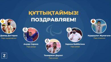 Photo of Денежные сертификаты вручили казахстанским паралимпийцам
