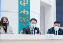 Photo of Члены Гражданского штаба «Ел үшін егілемін» ответили на вопросы журналистов