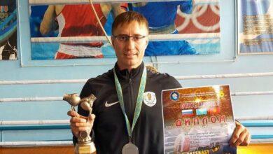 Photo of Ветеран спорта Акмолинской области выступил на турнире по боксу