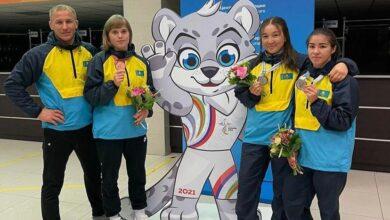 Photo of Акмолинцы стали призерами на играх стран СНГ по женской борьбе