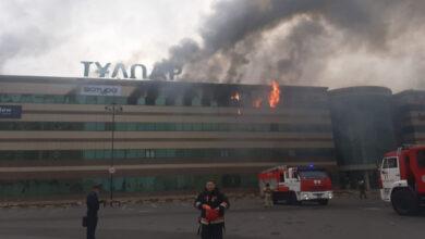 Photo of Пожар в торговом центре в Нур-Султане: полиция возбудила уголовное дело