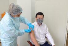 Photo of Глава Минздрава Цой вакцинировался от гриппа