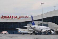 Photo of Самолет столкнулся с машиной в аэропорту Алматы