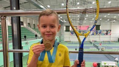 Photo of 5-летний теннисист из Кокшетау выиграл республиканский турнир