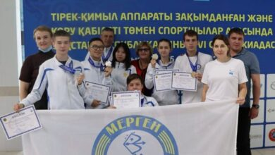 Photo of Акмолинские параатлеты завоевали 19 наград на спартакиаде РК по плаванию