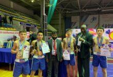Photo of Четыре акмолинца стали чемпионами мира по Nomad MMA
